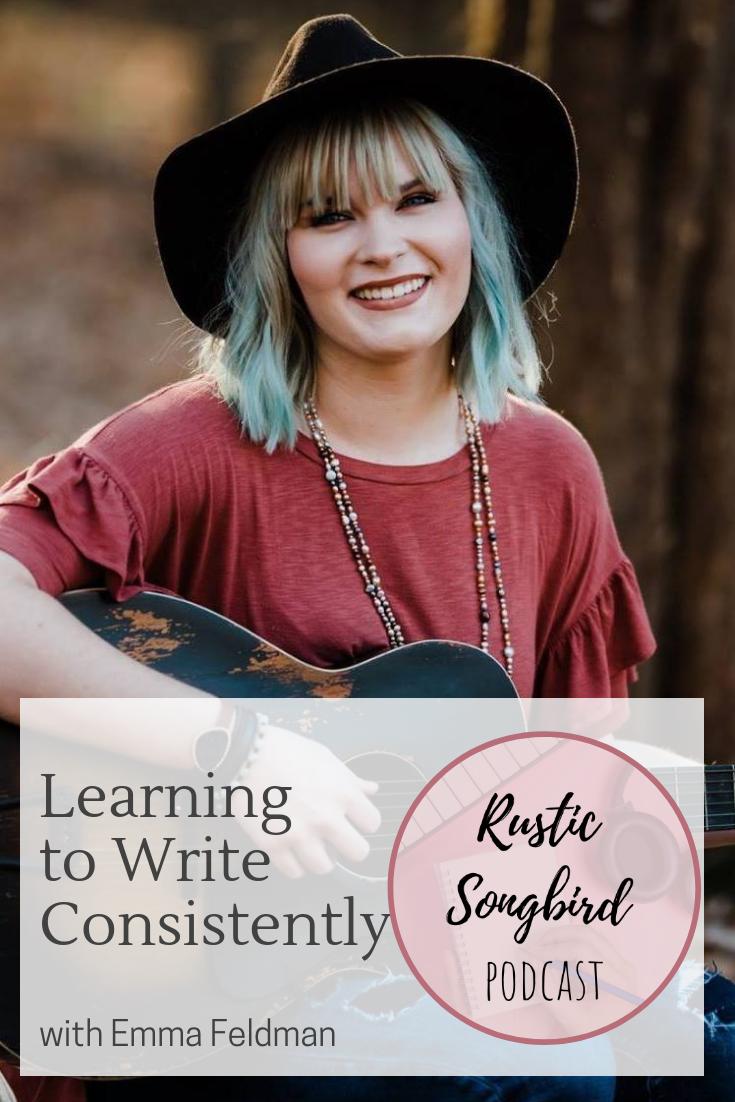 learning to write consistently, Emma Feldman