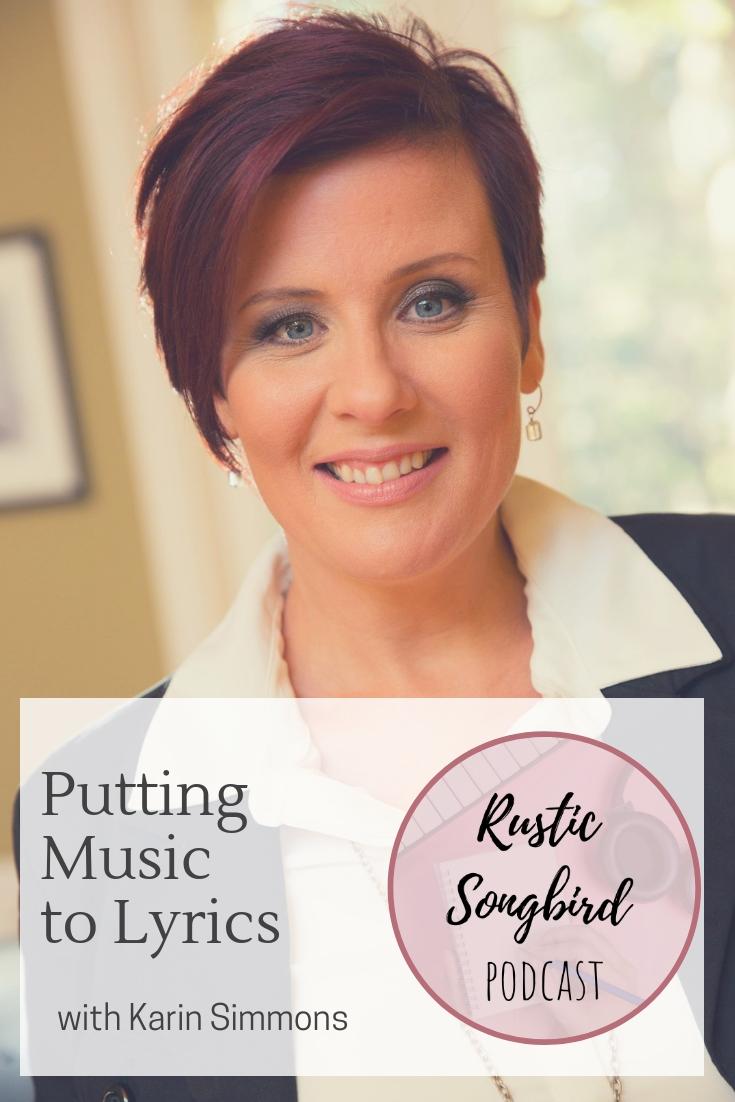 putting music to lyrics, Karin Simmons