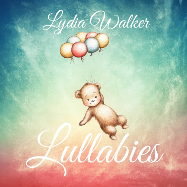 lullabies album cover teddy bear with balloons
