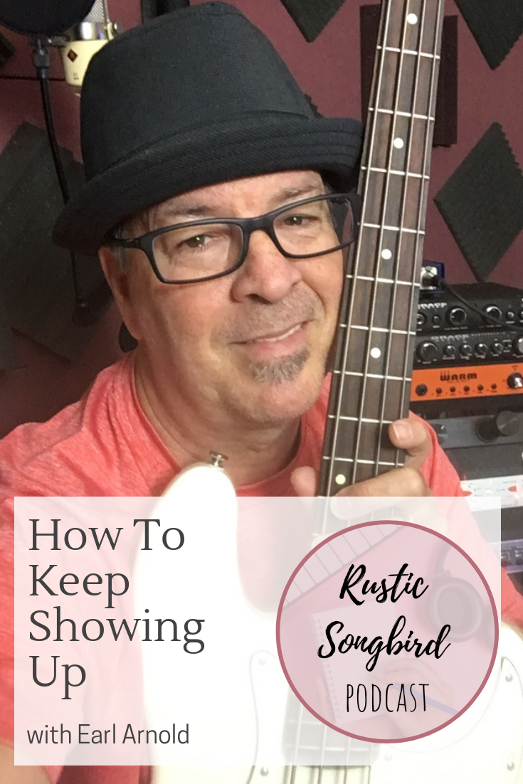 Earl Arnold on the Rustic Songbird Podcast